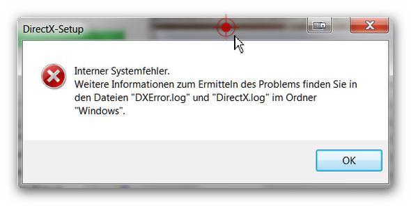 Fehlermeldung - (Computer, PC-Spiele, Microsoft)