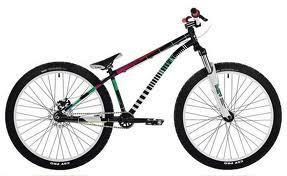 UMF Hardy Steel 2 24 Zoll schwarz (bunt) - (kaufen, Fahrrad, Dirt Bike)