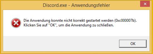 --- - (PC, Fehlermeldung, Windows 8.1)