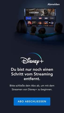 Disney+ Anmeldeprobleme?