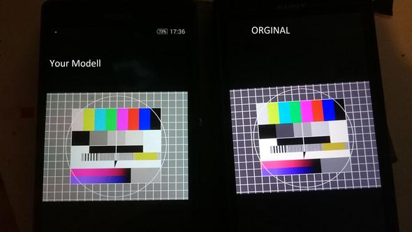 2xz - (Display, sony xperia z)