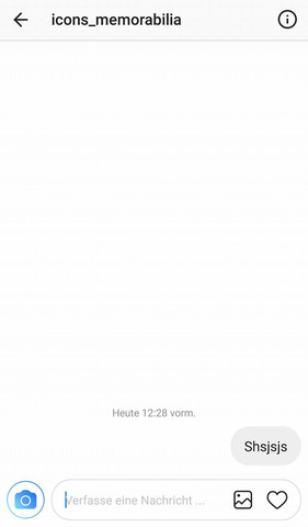 Instagram Chat  - (Handy, Smartphone, Display)