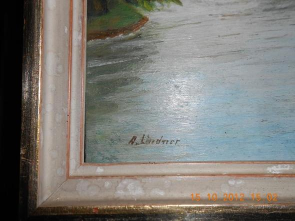 Maler A.Lindner - (Bilder, Kunst, Gemälde)
