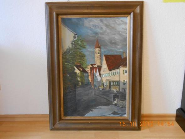Marktstrasse Kirchberg Sep. 1981 - (Bilder, Kunst, Gemälde)