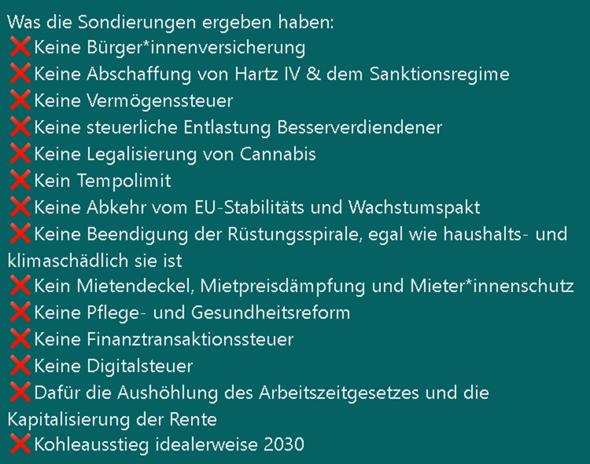 Doch keine Cannabis Legalisierung einiges mehr.., nach den Sondierungsgesprächen? 😥?