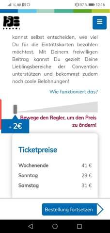 Dokomi 2020 Tickets bestellen?