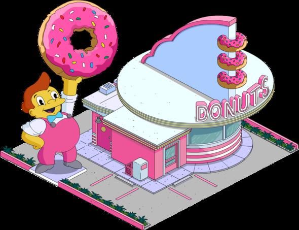 Doughnut shop simpsons?