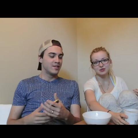 In einem YouTube Video  - (Brille, dove)