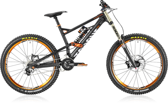 Canyon Torque FRX Whipzone - (Fahrrad, Vergleich, Downhill)