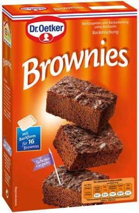 Dr. Oetker Brownies backen?