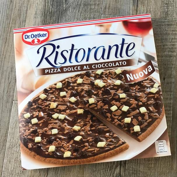 dr oetker schokoladenpizza wo kaufen schokolade pizza real. Black Bedroom Furniture Sets. Home Design Ideas