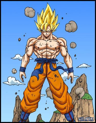 welcher ist songoku ? - (Anime, Dragonball, Son-Goku)
