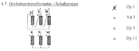 Drehstromtransformator Schaltbilder erkennen (Elektronik, Elektrik ...