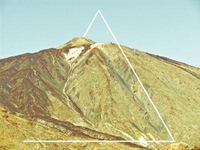 Foto 1 - (Bildbearbeitung, Tumblr, Dreieck)