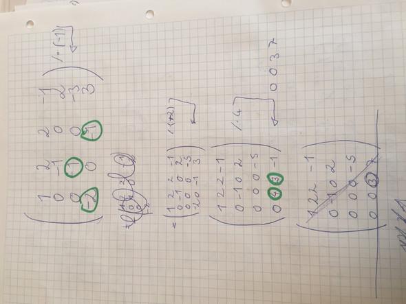 dringend wie berechne ich eine 4x4 matrix determinante. Black Bedroom Furniture Sets. Home Design Ideas