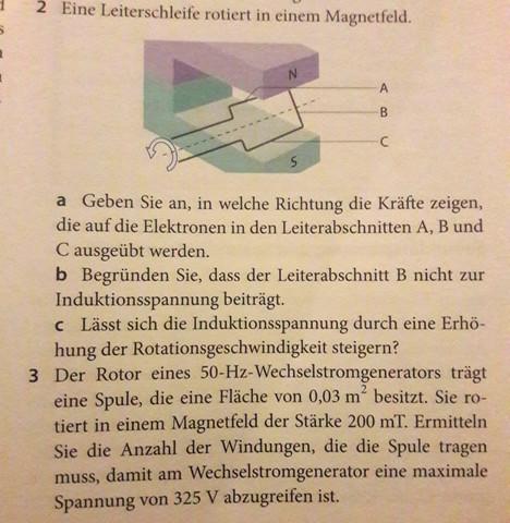 - (Schule, Physik, Magnetfeld)