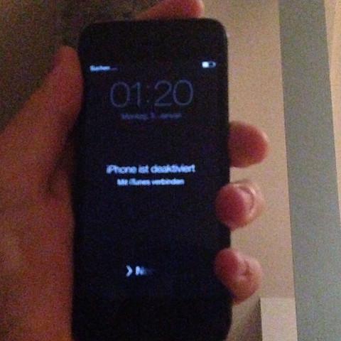 hab ein iPhone 5 - (iPhone, kaputt, Passwort)