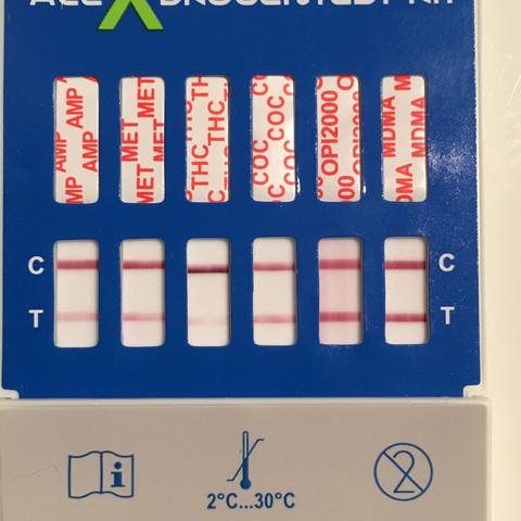 Aktueller Drogenschnelltest  - (Arzt, THC, drogentest)