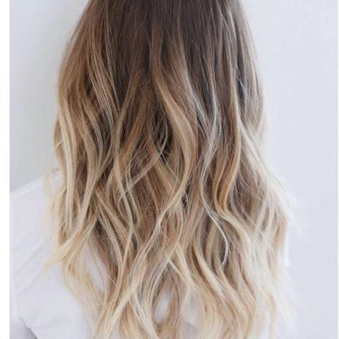 so ungefähr meine spitzen  - (Haarfarbe, Drogerie)
