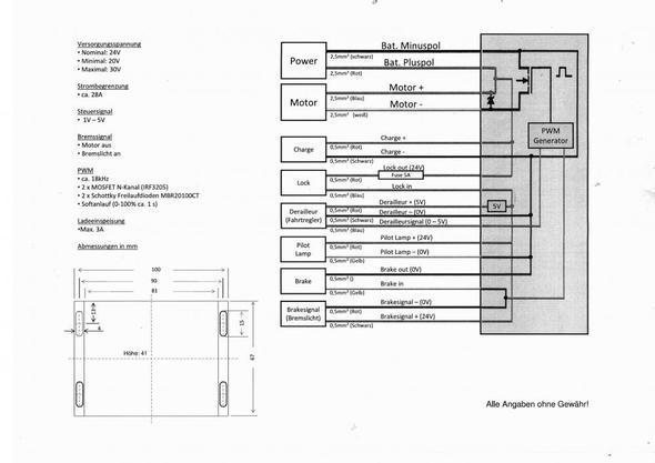 Drosselung von 24V auf 4V od. 5V --> Steuergerät und Zündschloss ...