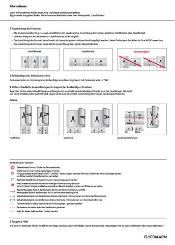 druckdatenblatt 1/2 - (Werbung, Grafik, Design)