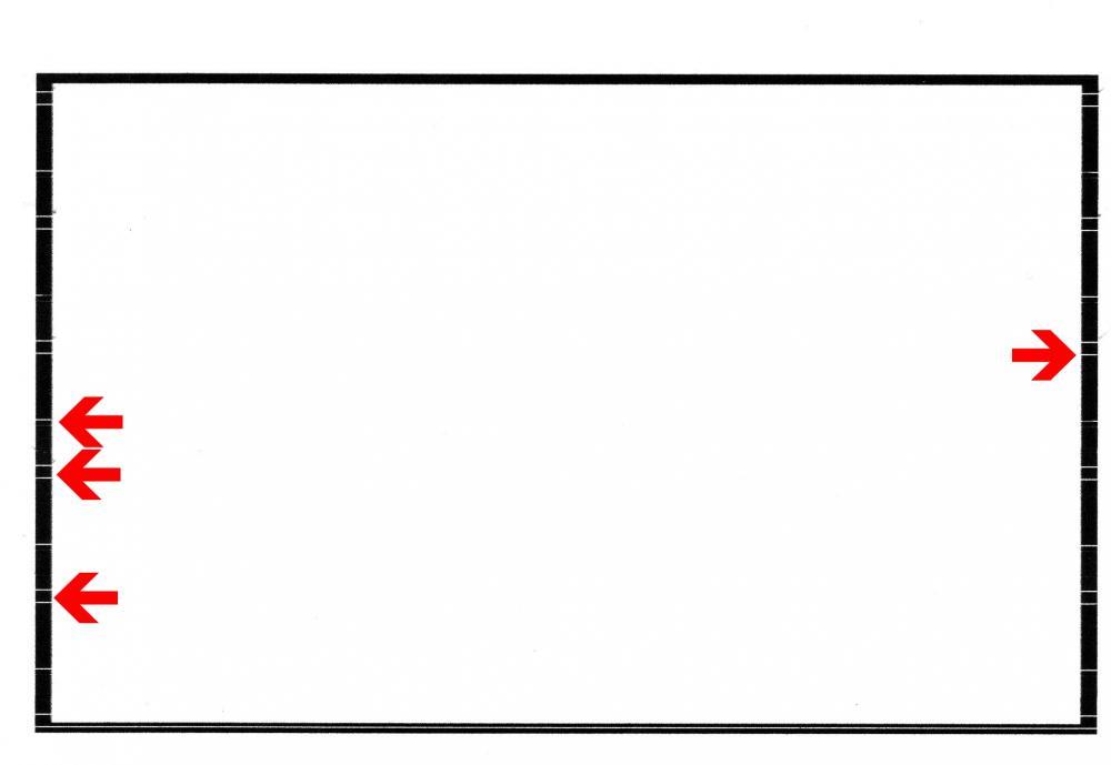 Drucker problem, druckt gestrichelt (Epson, Sx125)