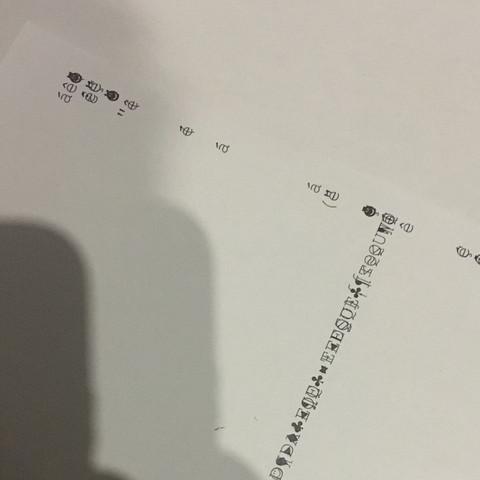 Hier ein Beispiel der Drucke  - (Computer, Technik, Arbeit)