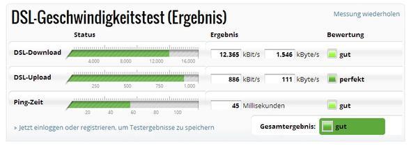 DSL Speedtest - (DSL, Speedtest)
