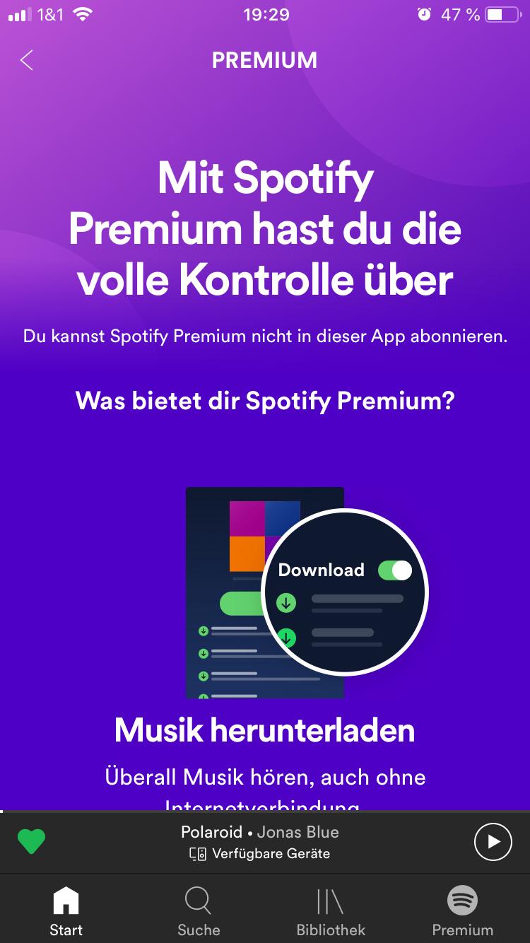 Spotify Paypal Funktioniert Nicht