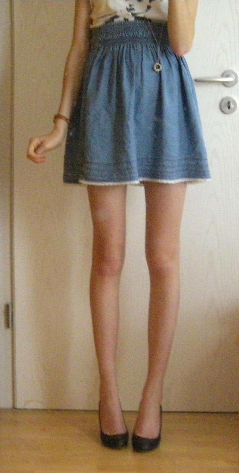 Flache schuhe dicke beine