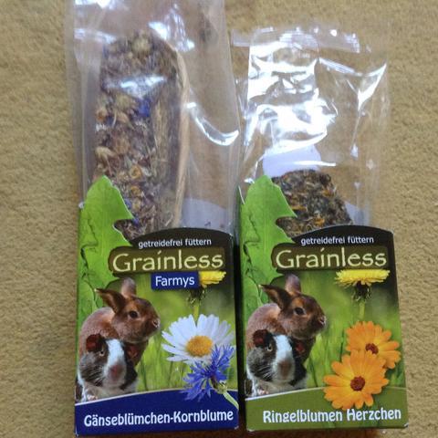 Grainless Farmys und Ringelblumen Herzen  - (Haustiere, Degu, Degu Nahrung)