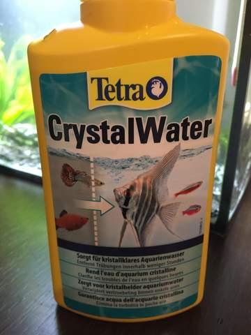 Dürfen die Wirbellosen nach der anwendung von CrystalWater wieder ins Aquarium?