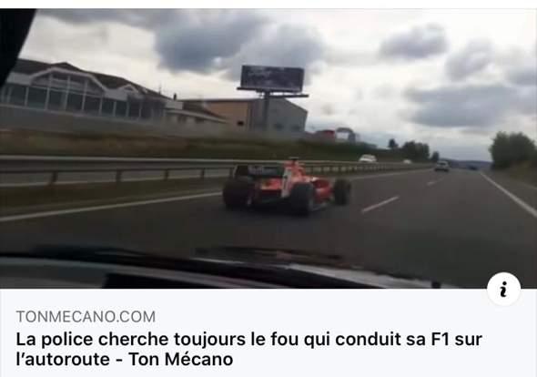 Dürfen Formel 1 🏎 Autos eigentlich auf normalen Straßen?