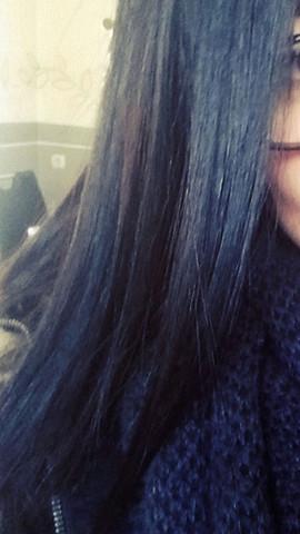 dunkelbraune haare mit strähnen