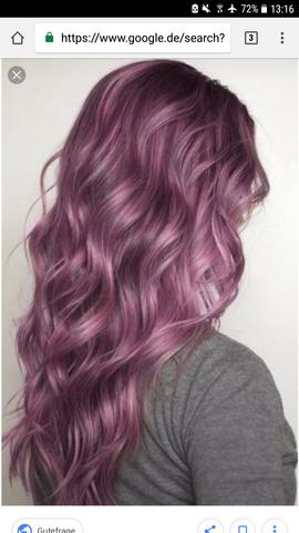 Braune haare mit directions farben