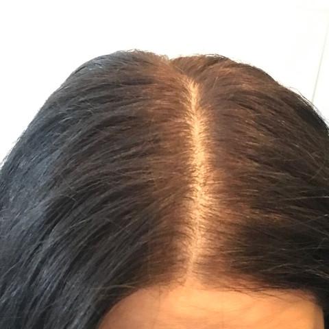 Schwarze haarfarbe deckt nicht
