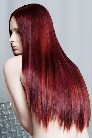 Ich Möchte Dunkelbraune Haare Rot Tönen Welcher Farbton Ist Am