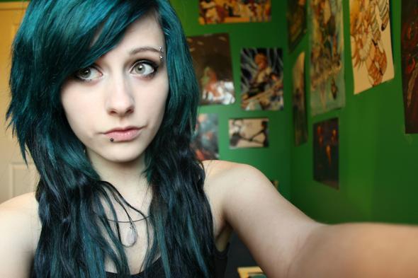 grüne haare - (Haare, Beauty, Farbe)