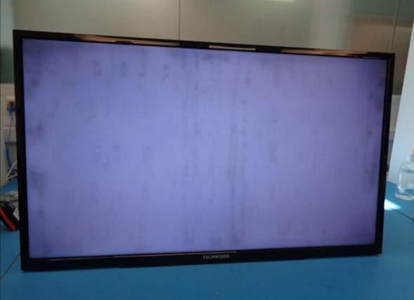 Dunkle Flecken auf Fernseher, gewährleistung wird verwehrt - rechtens?