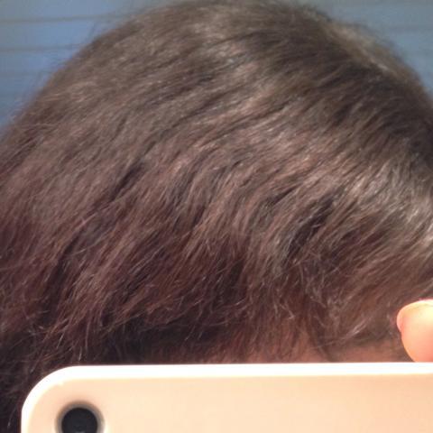 Dunkle haare ohne farben