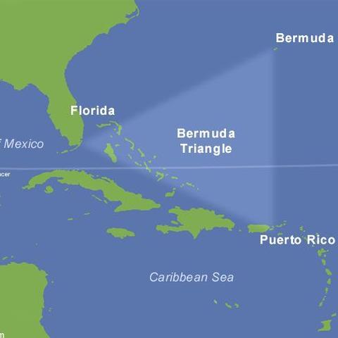 Durchquert ein Flieger von Costa Rica nach Madrid das Bermuda - Dreieck?