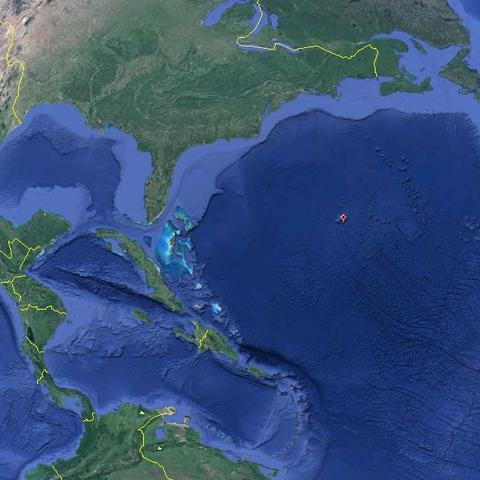 Bermuda Google Earth - (Urlaub, Reise, Flugzeug)