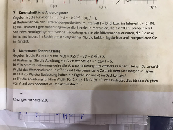Durchschnittliche Änderungsrate wie rechnen ? (Computer, Mathematik ...