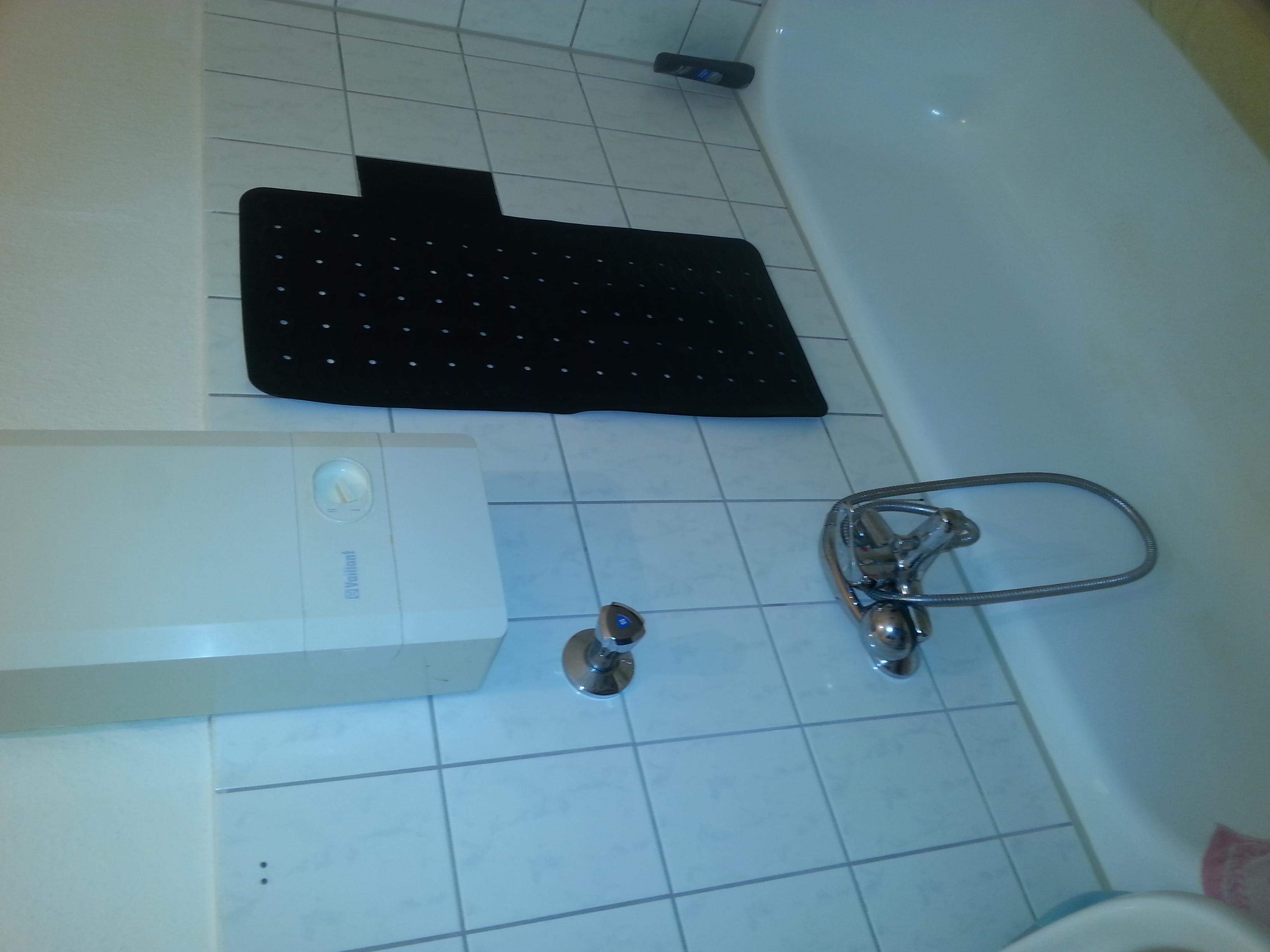 Duschen in der Badewanne? (Wohnung, Badezimmer, Dusche)