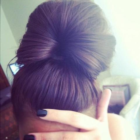 Dutt Frisur Haare