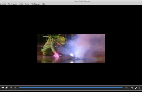 DVD - Film nur als kleines Bild auf dem PC