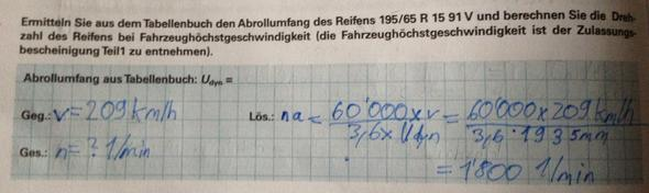 Rechnungsweg - (Schule, Auto, Formel)