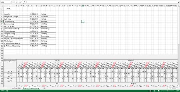 Feiertage_uebersicht - (Excel, Formel)