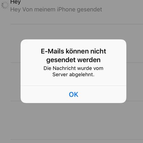 Fehlermeldung von iPhone 8 - (Handy, Technik, iPhone)