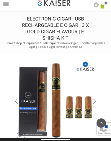 E-Zigarre ohne Nikotin gefährlich?